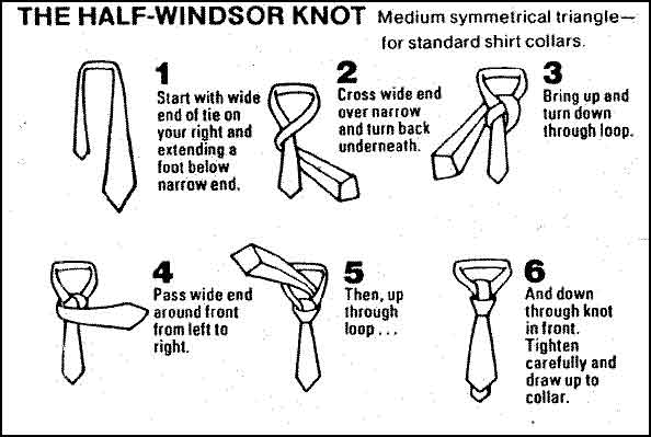 How to tie a half windsor knot tie fighter half windsor knot ccuart